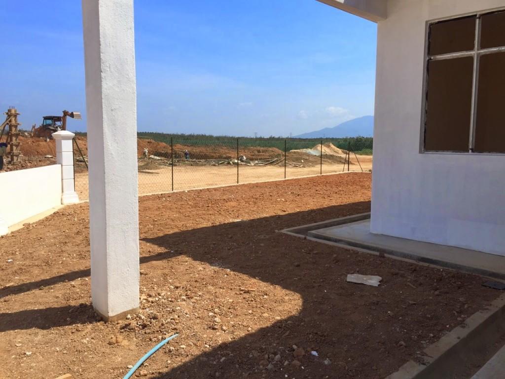 Rumah Teres Satu Tingkat Mampu Milik di Jasin